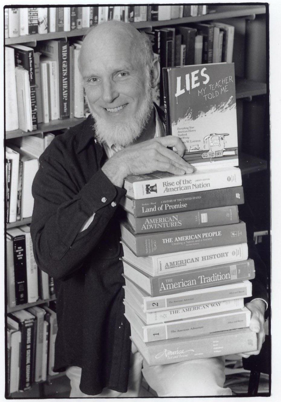 james loewen James w loewen is the bestselling and award-winning author of lies my  teacher told me, lies across america, and lies my teacher told.